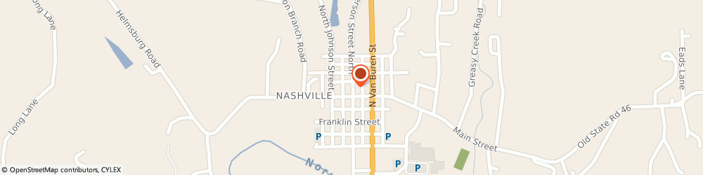 Route/map/directions to Safeco Insurance Agent, 47448-7000 Nashville, 24 N Jefferson St