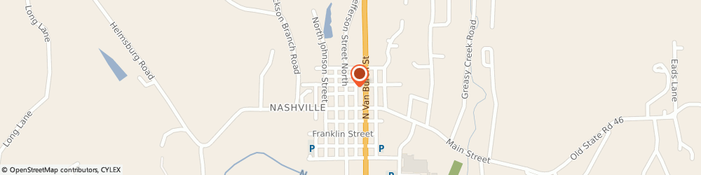 Route/map/directions to H&R Block, 47448 Nashville, 91 Gould St