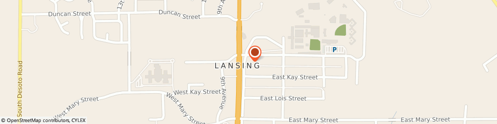 Route/map/directions to ANYTIME FITNESS Lansing, 66043 Lansing, 100 E. Kansas Ave.