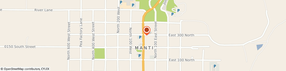 Route/map/directions to The Church Of Jesus Christ Of Latter-Day Saints - Stakes, Manti Utah Stake, 84642 Manti, 295 NORTH MAIN STREET