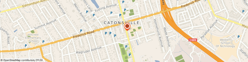 Route/map/directions to Signarama Catonsville, 21228 Catonsville, 22 Bloomsbury Ave