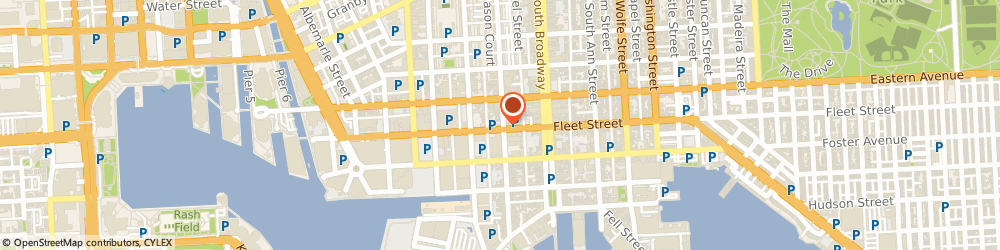 Route/map/directions to Fells Point Synagogue Project, 21231 Baltimore, 1534 Fleet St
