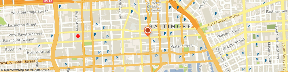Route/map/directions to Baltimore keys locked in car, 21224 Baltimore, 10 E Baltimore St