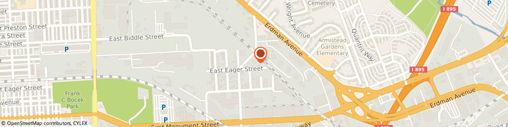 Route/map/directions to Ace Environmental Holdings, LLC, 21205 Baltimore, 4420 E Eager St.