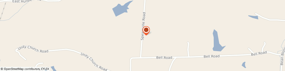 Route/map/directions to Unity Baptist Church, 46160 Morgantown, 7361 SPEARSVILLE RD