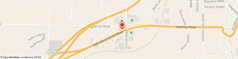 Route/map/directions to Walgreens, 64024 Excelsior Springs, 1718 W Jesse James Rd