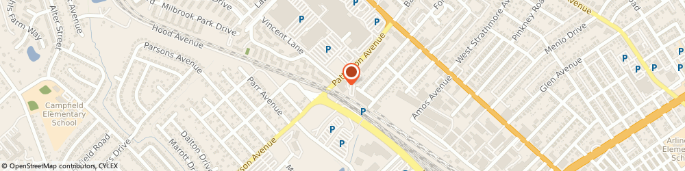 Route/map/directions to Dental Examiners Dept, 21215 Baltimore, 4201 Patterson Ave