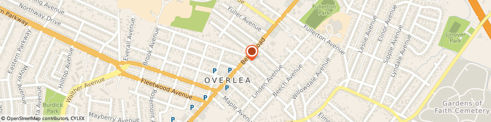 Route/map/directions to Overlea-Fullerton Senior Ctr, 21206 Baltimore, 5 Madeline Ave