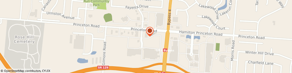 Route/map/directions to FIREHOUSE SUBS, 45011 Hamilton, 3195 Princeton Rd