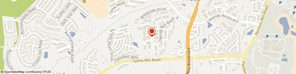 Route/map/directions to Beckett Green Condominiums, 21117 Owings Mills, 9400 Wordsworth Way