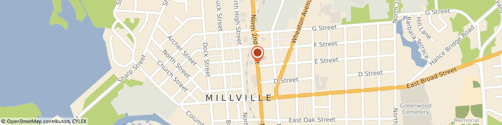Route/map/directions to Advance Auto Parts, 08332 Millville, 800 North 2nd Street