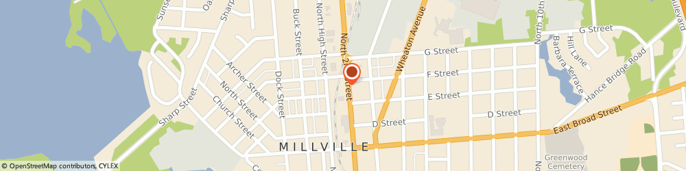 Route/map/directions to Gulf Oil Millville Gulf, 08332 Millville, 812 North 2Nd St