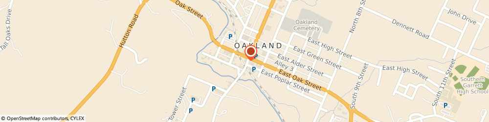 Route/map/directions to Subway, 21550 Oakland, 225 E. Oak Street