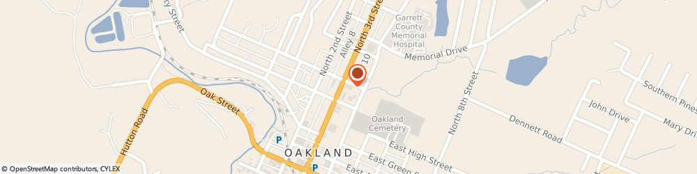Route/map/directions to McDonald's, 21550 Oakland, 19 N 3rd St
