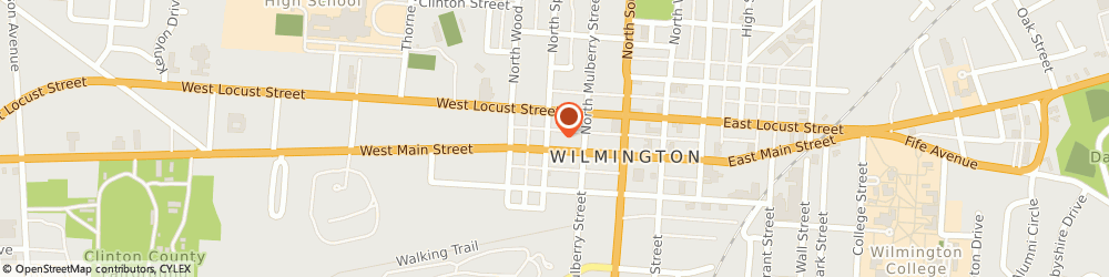 Route/map/directions to Good Neighbor Pharmacy, 45177 Wilmington, 159 West Main Street
