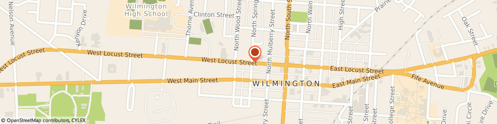 Route/map/directions to Good Neighbor Pharmacy, 45177 Wilmington, 179 West Locust Street