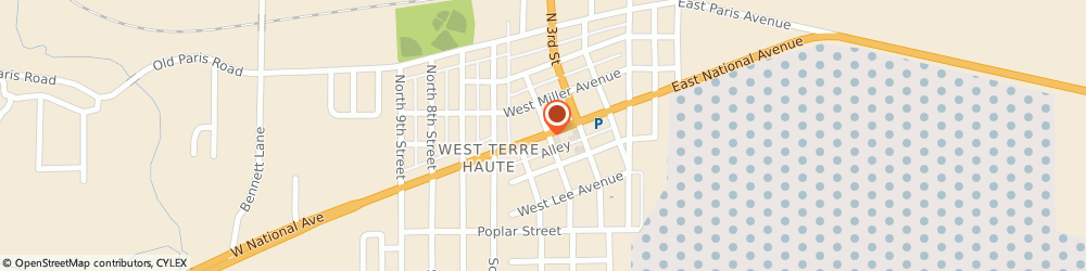 Route/map/directions to The American Legion John e Heyen, 47885 West Terre Haute, 414 W National Ave