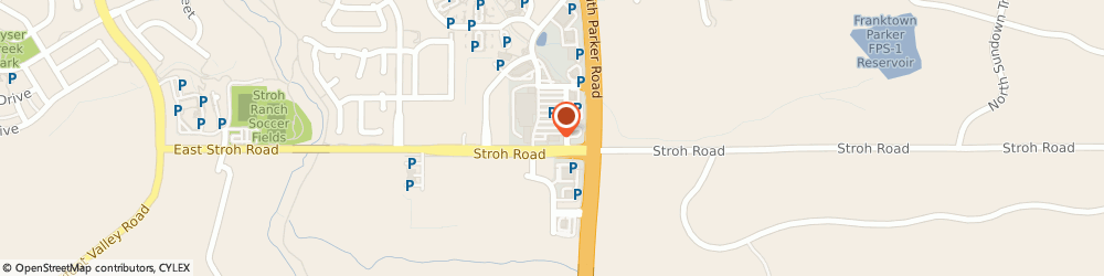 Route/map/directions to Subway, 80134 Parker, 13097 S Parker Rd