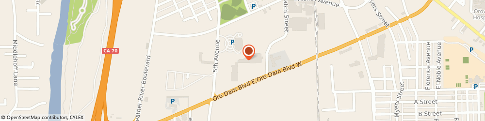 Route/map/directions to Check `n Go, 95965 Oroville, 1124 Oro Dam Boulevard