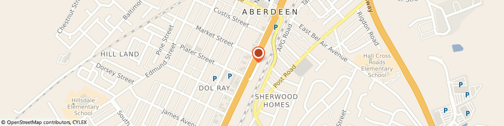 Route/map/directions to PNC BANK, 21001 Aberdeen, 231 N Philadelphia