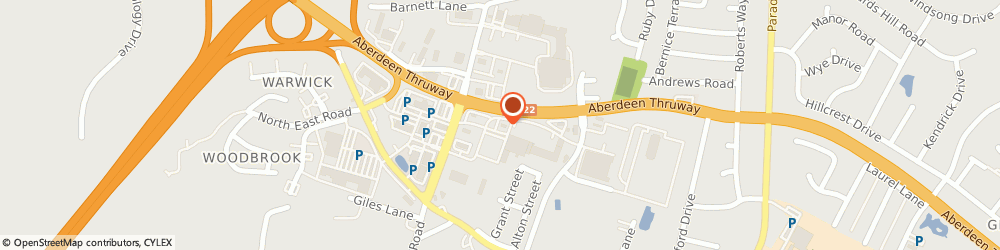 Route/map/directions to PNC Bank, 21001 Aberdeen, 1004 Beards Hill Rd