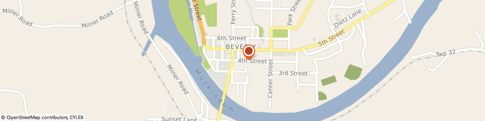 Route/map/directions to Miller r W Plumbing & Electric, 45715 Beverly, 211 4TH ST