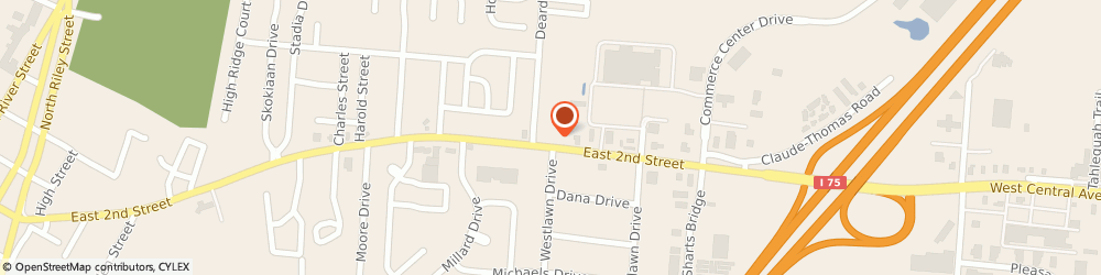Route/map/directions to Shop Once Insurance, Inc., 45005 Franklin, 1209 E Second St