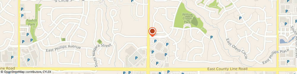 Route/map/directions to Seven Oaks Academy, 80112 Centennial, 8100 SOUTH QUEBEC STREET