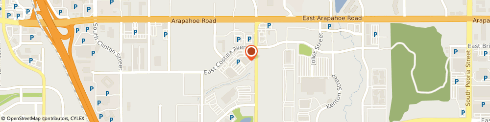 Route/map/directions to Citibank ATM, 80112 Englewood, 6855 South Havana Street