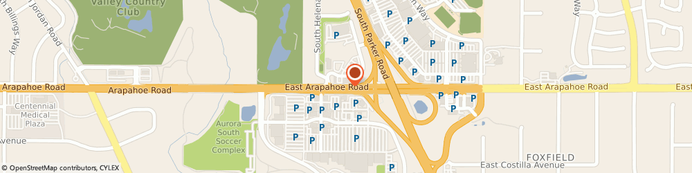 Route/map/directions to Starbucks Coffee Company, 80016 Aurora, 15795 E Arapahoe Rd Unit 100