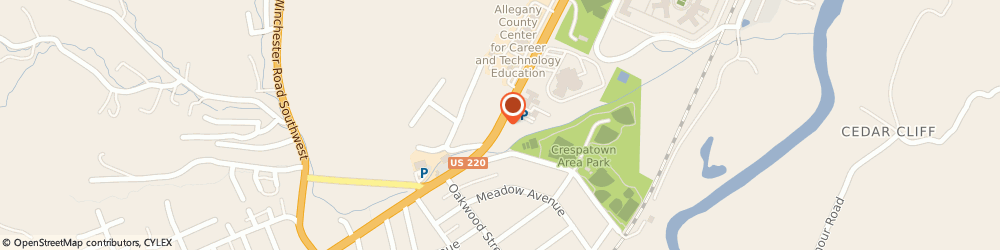 Route/map/directions to Potomac Park United Methodist Church, 21502 Cumberland, MCMULLEN HIGHWAY SOUTHWEST # O