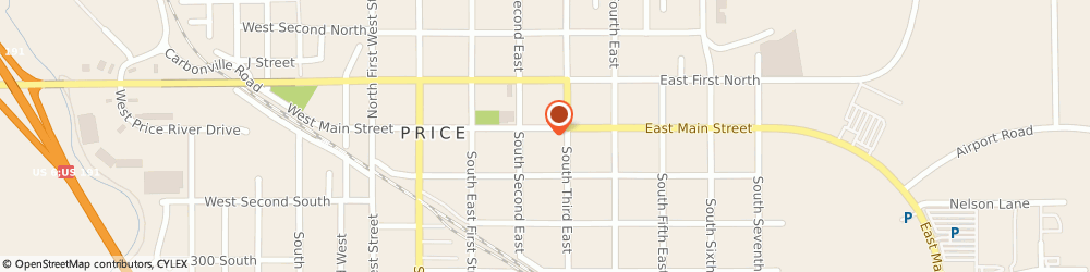 Route/map/directions to Professional Title Services, 84501 Price, 107 S 100 E