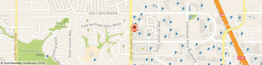 Route/map/directions to Elite Lighting, 80111 Centennial, 6436 SOUTH QUEBEC STREET