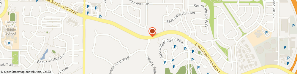 Route/map/directions to Starbucks Coffee Smoky & Himalaya, 80015 Aurora, 19751-A Smoky Hill Road
