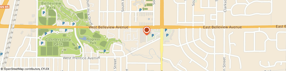 Route/map/directions to Citibank ATM, 80110 Englewood, 200 W Belleview