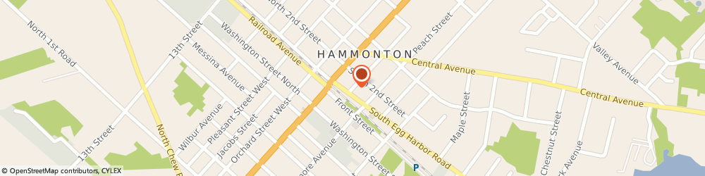 Route/map/directions to South Jersey Chest Diseases, 08037 Hammonton, 107 Vine St,