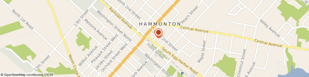 Route/map/directions to Kanoff Jack M Do, 08037 Hammonton, 107 Vine St