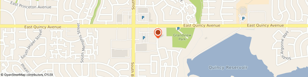 Route/map/directions to Kumon Math and Reading Center of Aurora, 80015 Aurora, 17030 East Quincy Ave.