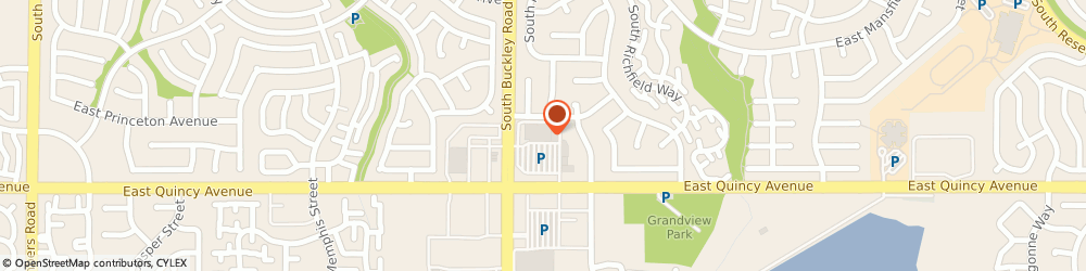 Route/map/directions to Starbucks Coffee Safeway-Aurora #139, 80015 Aurora, 16921 E. Quincy Ave.
