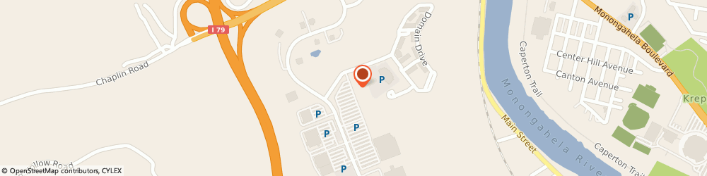 Route/map/directions to Old Navy University t/C, 26505 Morgantown, 4021 University Town Centre Drive