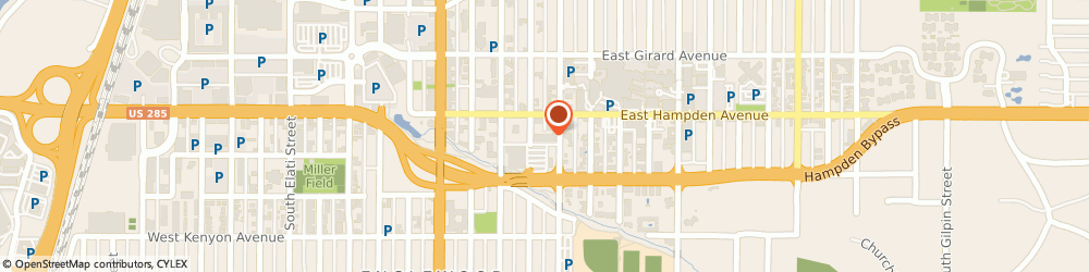 Route/map/directions to Englewood Appliance Repair and More, 80113 Englewood, 3531 S Logan St, Ste #D-170