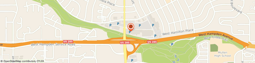 Route/map/directions to IHOP, 80227 Denver, 3100 S Sheridan Blvd