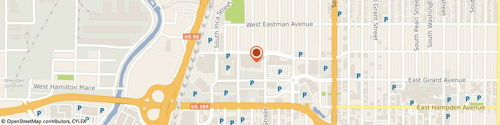 Route/map/directions to Citibank ATM, 80110 Englewood, 601 Englewood Pkwy