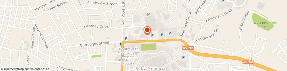 Route/map/directions to Navy Federal Credit Union ATM, 26505 Morgantown, 735-A Chestnut Ridge Rd