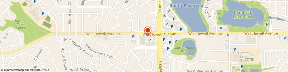 Route/map/directions to Little Caesars Pizza, 80232 Lakewood, 11098 West Jewell Ave