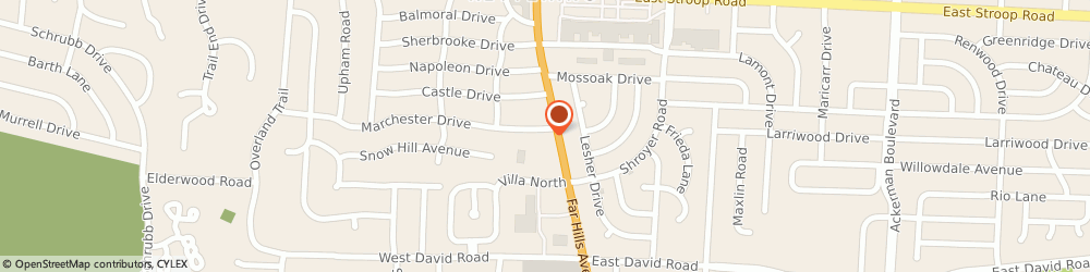 Route/map/directions to FIREHOUSE SUBS, 45429 Kettering, 4301 Far Hills Ave