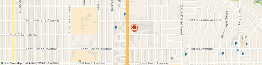 Route/map/directions to Viale Pizza & Kitchen, 80222 Denver, 1390 S Colorado Blvd