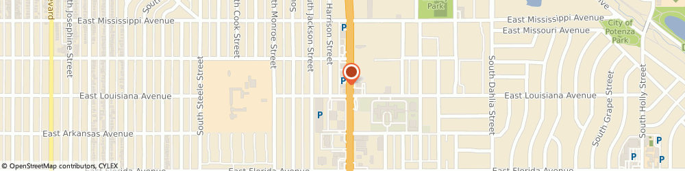 Route/map/directions to Taco Bell, 80222 Denver, 1265 S Colorado Blvd
