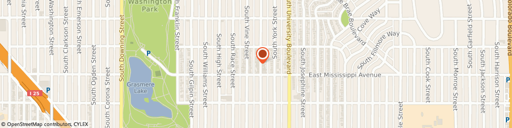 Route/map/directions to Eyes Of The World Optical, 80209 Denver, 1061 SOUTH GAYLORD STREET