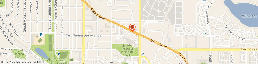 Route/map/directions to Taco Bell, 80224 Denver, 7150 Leetsdale Drive